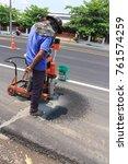 surin  thailand   march 30 ... | Shutterstock . vector #761574259