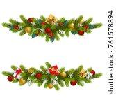 Vector Christmas Fir Decoratio...