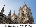Exterior Of Westminster Abbey....