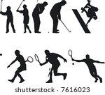 illustration of athlete... | Shutterstock .eps vector #7616023