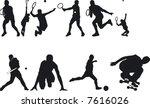 illustration of athlete... | Shutterstock .eps vector #7616026