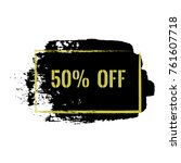 50  off sale discount banner....
