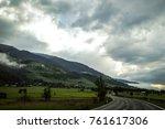 road trip in europe  | Shutterstock . vector #761617306