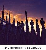 duomo milan   italy | Shutterstock . vector #761628298