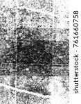 grunge black and white pattern. ... | Shutterstock . vector #761660758