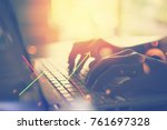 business economic and...   Shutterstock . vector #761697328