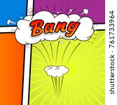 comic collection  word bang ... | Shutterstock .eps vector #761733964
