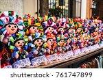 native dolls of tlaquepaque | Shutterstock . vector #761747899