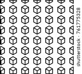 cube shape design | Shutterstock .eps vector #761775328
