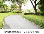 suanluang rama ix park | Shutterstock . vector #761794708