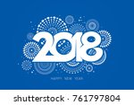 vector illustration of ... | Shutterstock .eps vector #761797804