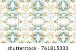 mosaic colorful artistic...   Shutterstock . vector #761815333