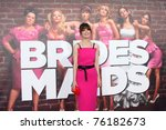 los angeles   apr 27   rose... | Shutterstock . vector #76182673