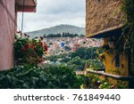 view of guanajuato and the... | Shutterstock . vector #761849440