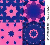 set of gloomy abstract...   Shutterstock . vector #761864224