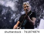 Small photo of Vancouver, BC / Canada - October 28 2017: Roger Waters of Pink Floyd for his 'Us + Them Tour' at Rogers Arena in Vancouver, BC on October 28th 2017