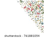 abstract background for... | Shutterstock .eps vector #761881054