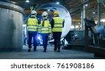 following shot of three... | Shutterstock . vector #761908186