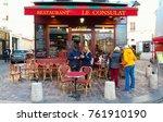 paris   france  november 22 ... | Shutterstock . vector #761910190