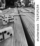 Small photo of domino table game