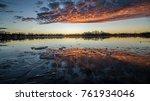 Icy Lake Sunrise
