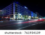 berlin   october 08  2017  the... | Shutterstock . vector #761934139
