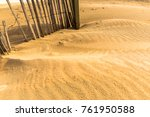 sand at the beach | Shutterstock . vector #761950588