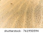sand at the beach | Shutterstock . vector #761950594