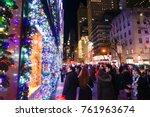 new york  usa   20 november... | Shutterstock . vector #761963674