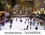 new york  usa   17 november... | Shutterstock . vector #761965024