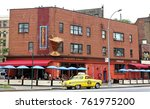 new york  usa   august 3  2014  ... | Shutterstock . vector #761975200