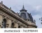 external view of architectural... | Shutterstock . vector #761998444