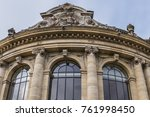 external view of architectural... | Shutterstock . vector #761998450