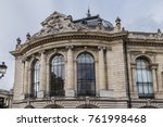 external view of architectural... | Shutterstock . vector #761998468