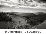 photo of the mountains and...   Shutterstock . vector #762035980