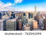 new york  new york  usa... | Shutterstock . vector #762041494