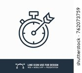 icon deadline  most important... | Shutterstock .eps vector #762073759