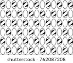 oval design texture pattern | Shutterstock .eps vector #762087208