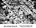 grunge black and white pattern. ... | Shutterstock . vector #762153019