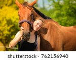 taking care of animals  love...   Shutterstock . vector #762156940