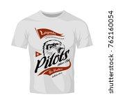 vintage pilots custom bikes...   Shutterstock .eps vector #762160054