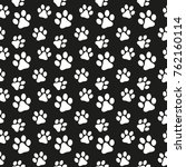 seamless pattern in the dog's...   Shutterstock .eps vector #762160114