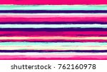 hand drawn stripes in... | Shutterstock .eps vector #762160978