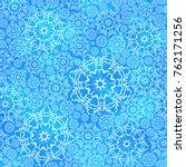 beautiful winter seamless... | Shutterstock .eps vector #762171256