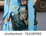 milan   september 22  woman... | Shutterstock . vector #762180583