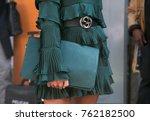 milan   september 22  woman... | Shutterstock . vector #762182500