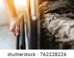 Woman Veteran In Wheelchair...