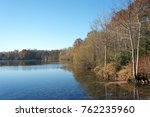 Small photo of Clarette pond in the french Gatinais regional nature park
