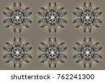 raster christmas abstract... | Shutterstock . vector #762241300