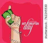 anti corruption day | Shutterstock .eps vector #762245530